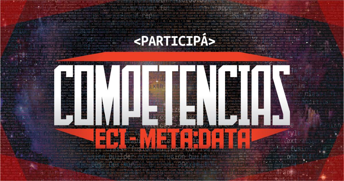 Continúan las Competencias ECI-META: DATA